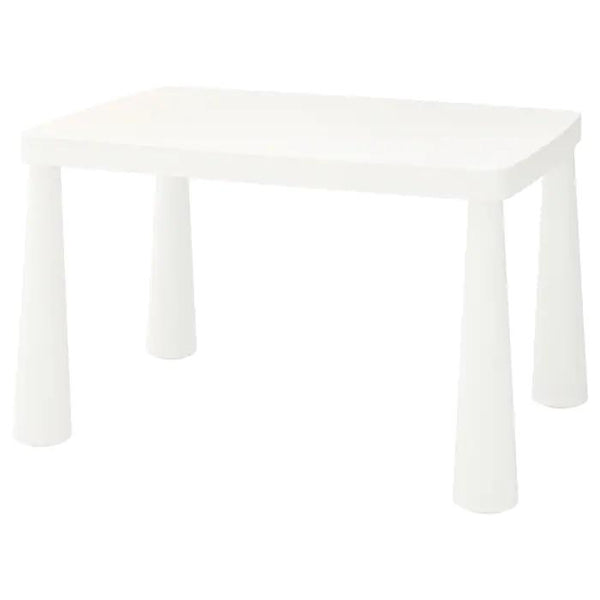 MAMMUT  Children's table, 77x55cm, White