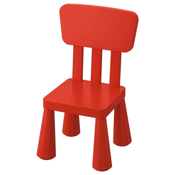 MAMMUT  Children's chair, Red