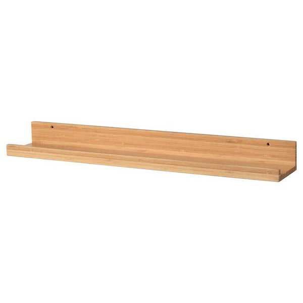 MALERAS Picture ledge, 75cm, Bamboo