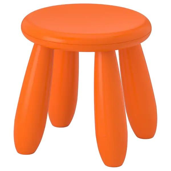 MAMMUT Children's stool, Orange