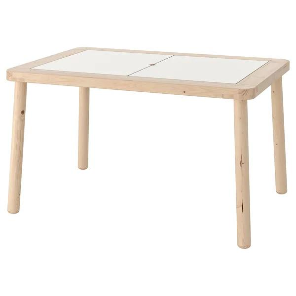 FLISAT Children's table, 83x58 cm