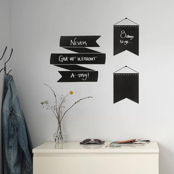 KINNARED Decorative stickers, Blackboard
