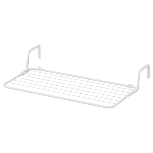 ANTONIUS Drying rack, 77x40-49 cm, White