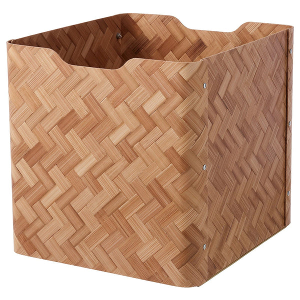 BULLIG Box (2020), 32x35x33cm, Bamboo/brown