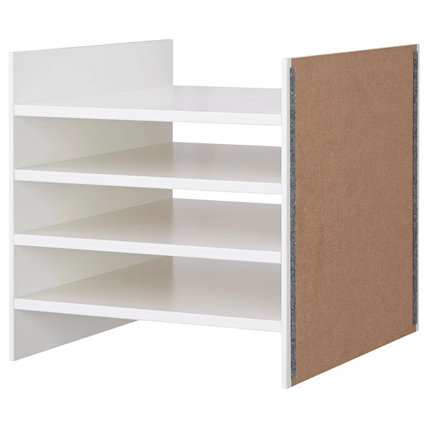KALLAX Insert with 4 shelves, 33x33cm, White