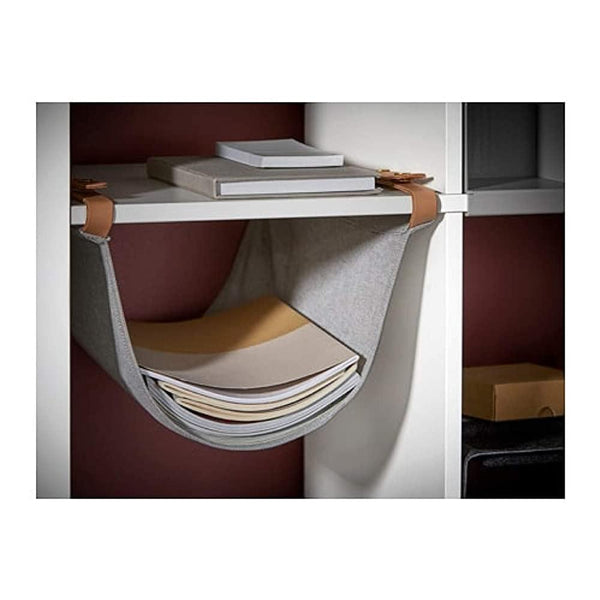 KALLAX hanging organiser, Light grey