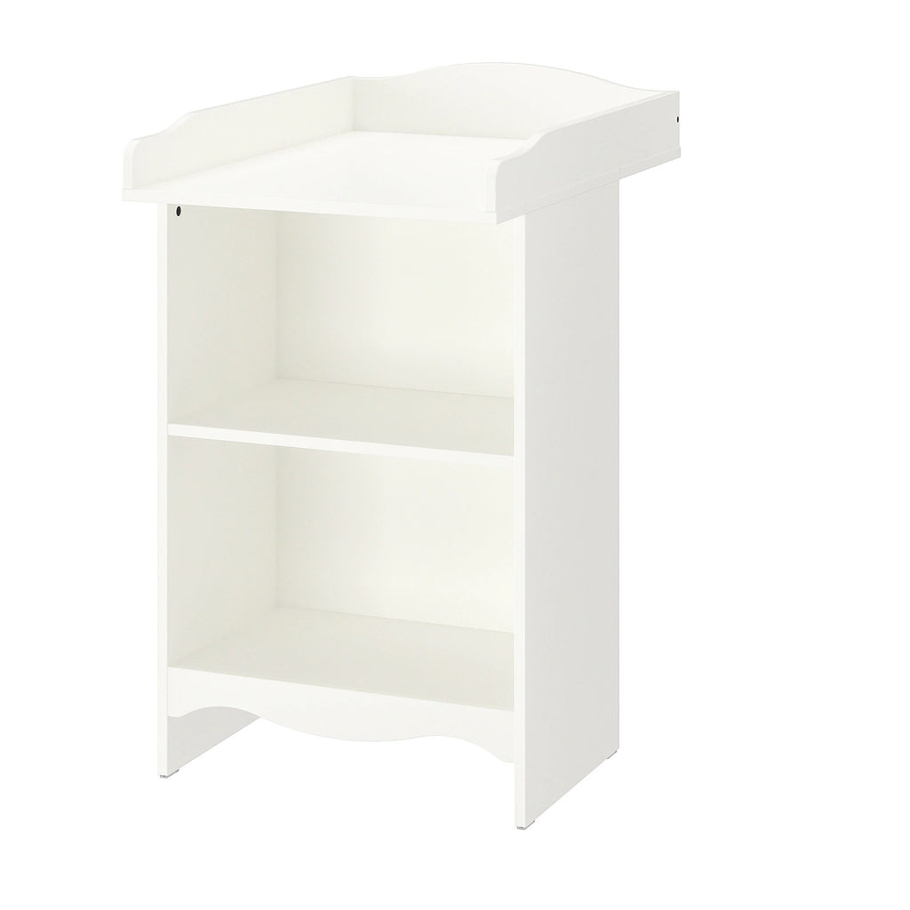 SMAGORA Changing table/bookshelf, white