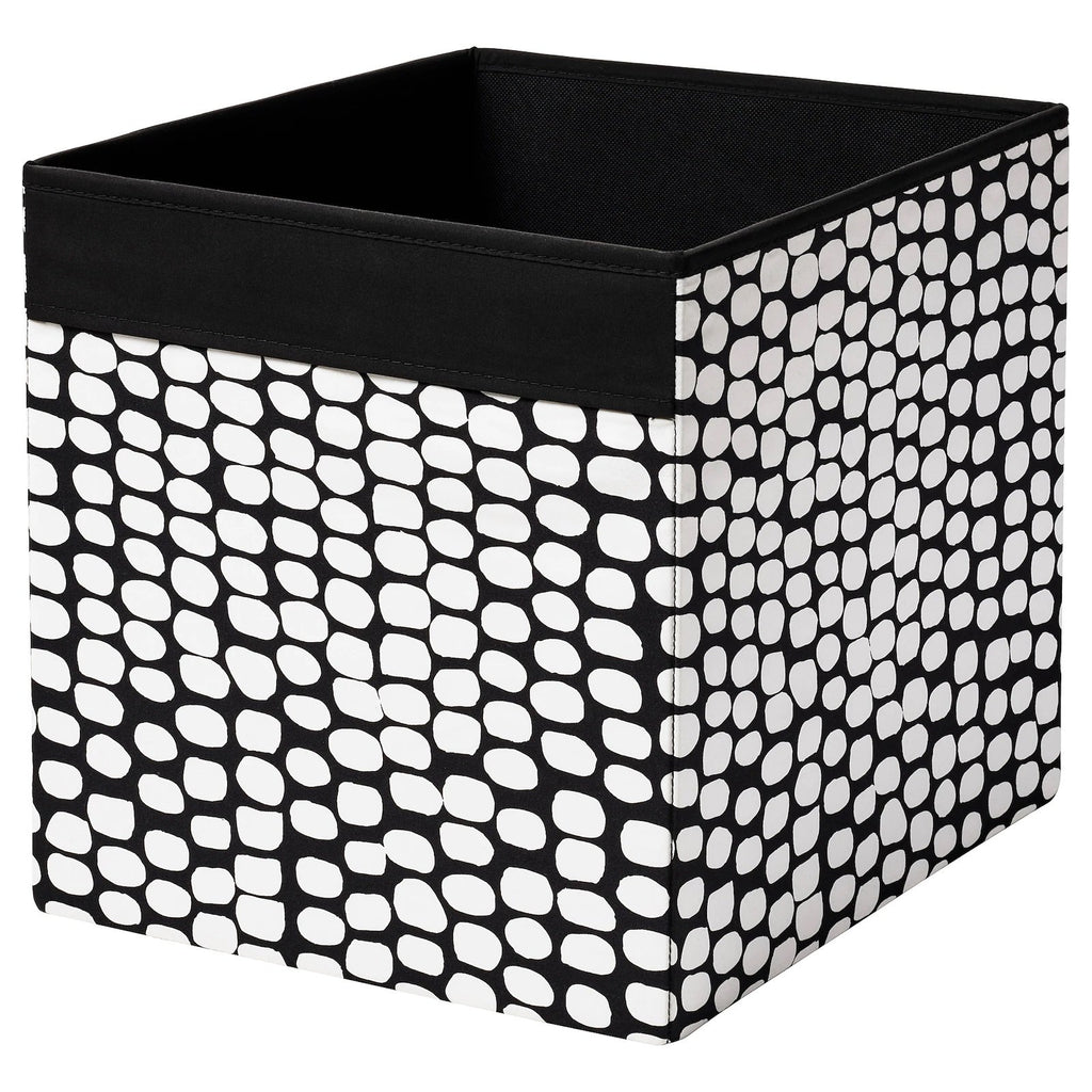 DRONA box, Black & white spots