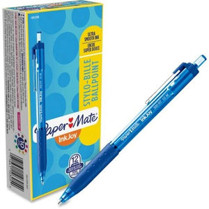 PaperMate InkJoy 300RT Ballpoint Pen, Retractable, Dozen