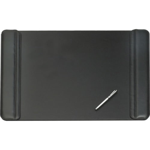 Executive Desk Pad with Flip-Open Side Panels