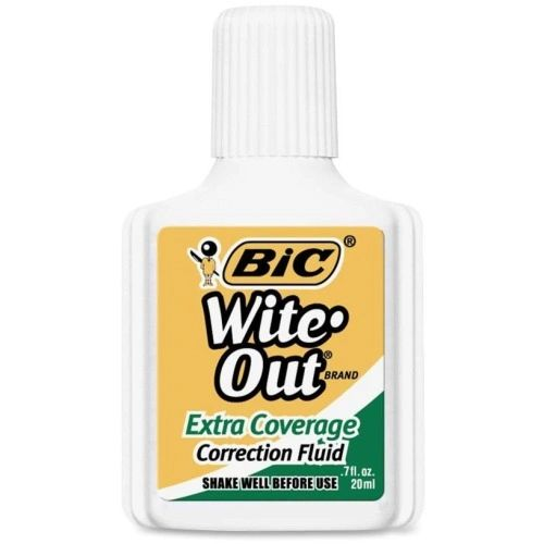 BIC Wite-Out Correction Fluid, Dozen