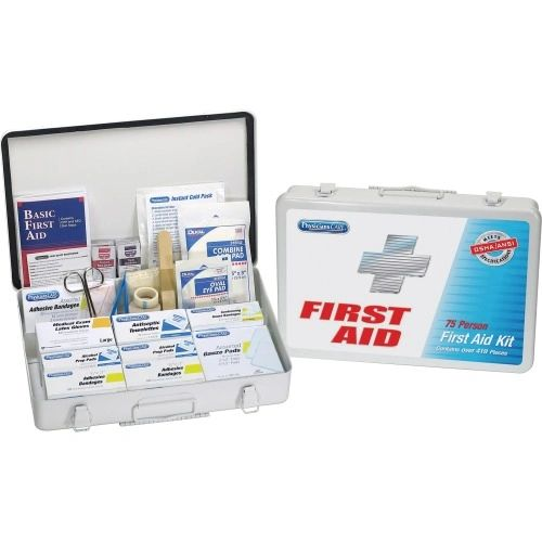 First Aid Kit with Metal Case