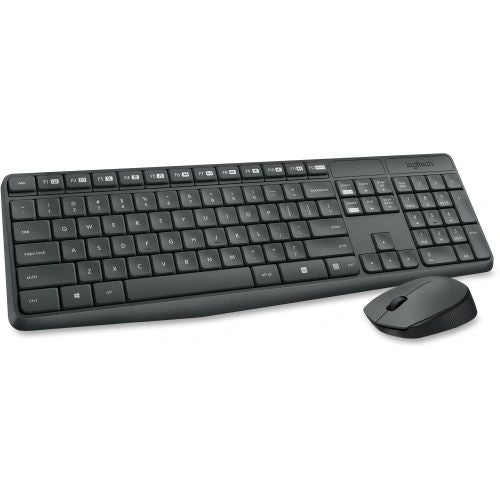 Basic Wireless Keyboard & Mouse Combo Set