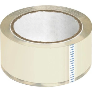Clear Packaging Tape, Heavy-Duty, 6/PK