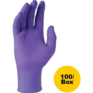 Kimberly-Clark Purple Nitrile Exam Gloves