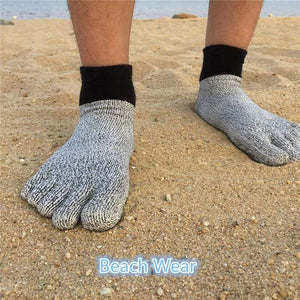 Wow Sports Shop ⭐5 Toe Cut Resistant Socks Comfortable Anti-Slip Socks