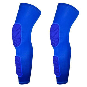 Wow Sports Shop Blue / L Long Knee Pads Supporter for  Basketball Football