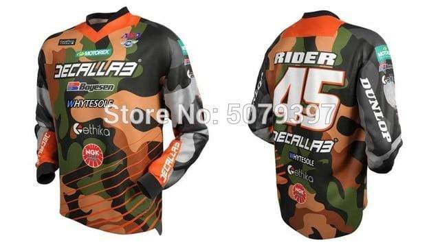Wow Sports Shop Brown / XS 🚲 Enduro motocross Jersey- cycling mountain 2020