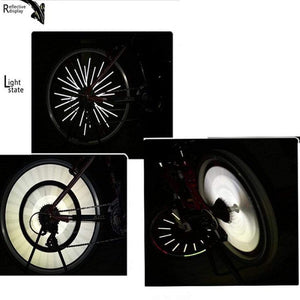 Wow Sports Shop Cycling Wheel Rim Tube Safety Reflector