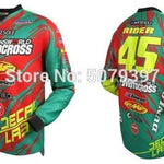 Wow Sports Shop Green / S 🚲 Enduro motocross Jersey- cycling mountain 2020