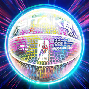 Wow Sports Shop Holographic Glowing Basketball