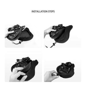 Wow Sports Shop Hot Sale 3D Soft Bike Seat Saddle for A Bicycle
