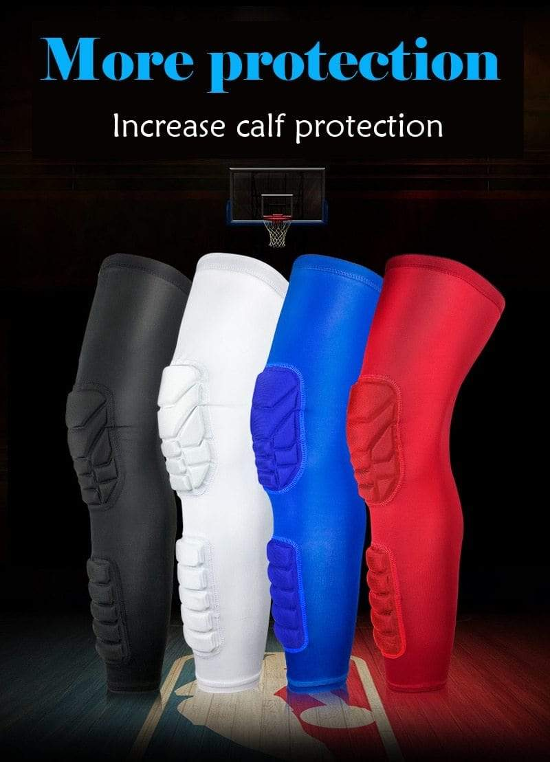 Wow Sports Shop Long Knee Pads Supporter for  Basketball Football