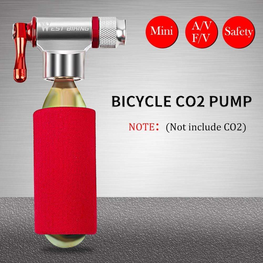 Wow Sports Shop Mini Bicycle Pump  for Basketball Football Cycling