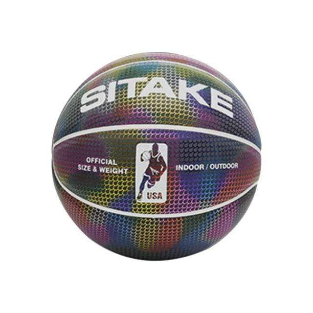 Wow Sports Shop Multi / United States Holographic Glowing Basketball