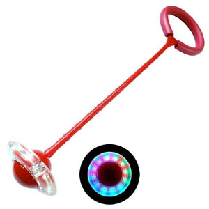Wow Sports Shop Red Colorful Flashing Jumping Rope Ball