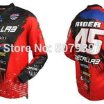 Wow Sports Shop Red / XXXL 🚲 Enduro motocross Jersey- cycling mountain 2020