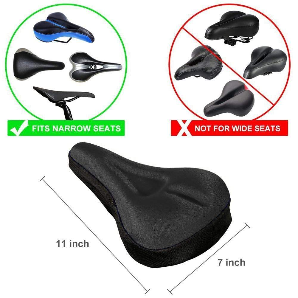 Wow Sports Shop Super Light Plastic Bicycle Saddle Seat - 6 Colors