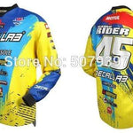 Wow Sports Shop Yellow / XL 🚲 Enduro motocross Jersey- cycling mountain 2020