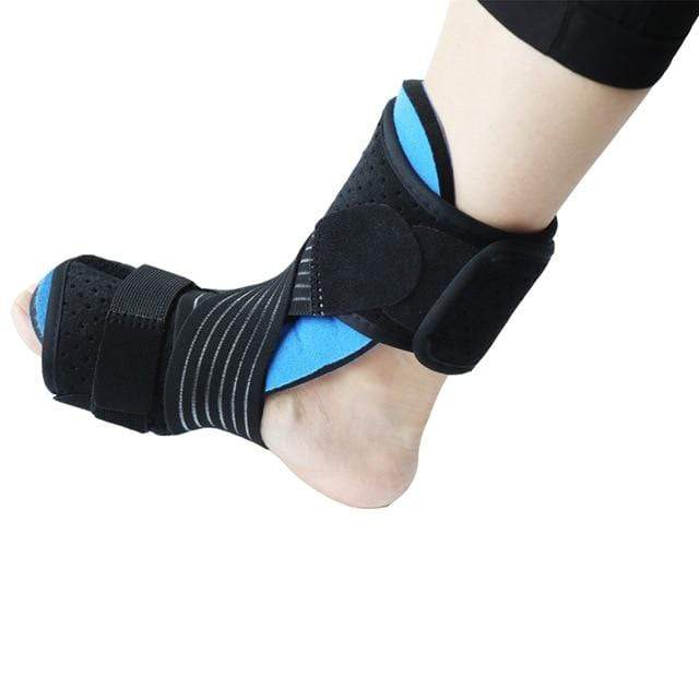 Wow Sportz Enhanced no ball / Free Size Drop Foot Brace Adjustable Plantar Fasciitis Dorsal Night Splint Foot Support Ankle Stabilizer Orthotic Foot Pain Relief