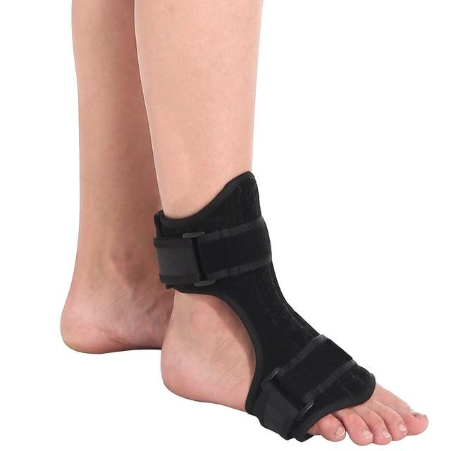 Wow Sportz Neoprene no ball / Free Size Drop Foot Brace Adjustable Plantar Fasciitis Dorsal Night Splint Foot Support Ankle Stabilizer Orthotic Foot Pain Relief