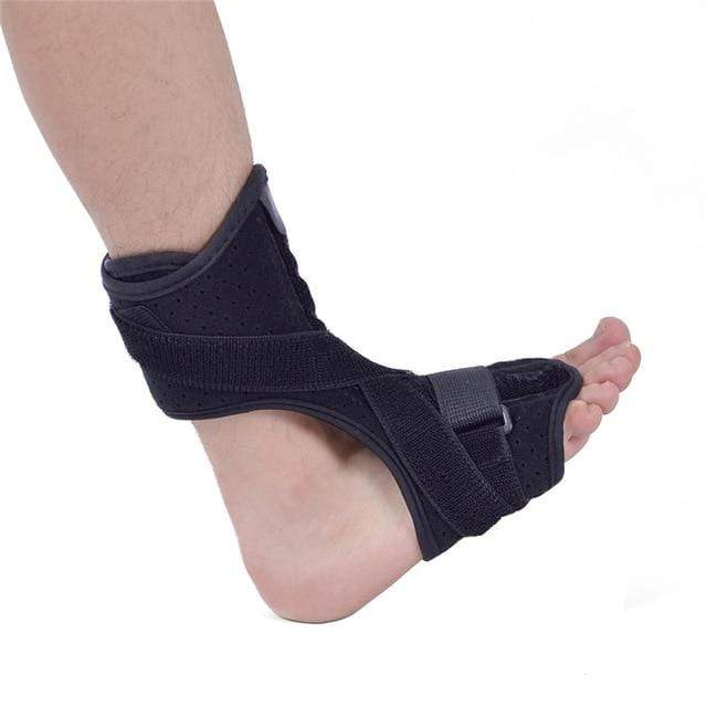 Wow Sportz Normal no ball / Free Size Drop Foot Brace Adjustable Plantar Fasciitis Dorsal Night Splint Foot Support Ankle Stabilizer Orthotic Foot Pain Relief