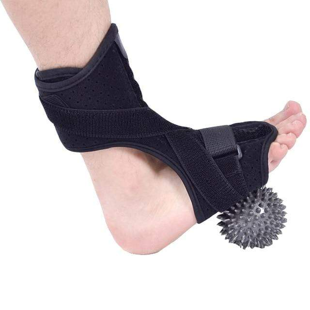 Wow Sportz Normal with ball / Free Size Drop Foot Brace Adjustable Plantar Fasciitis Dorsal Night Splint Foot Support Ankle Stabilizer Orthotic Foot Pain Relief