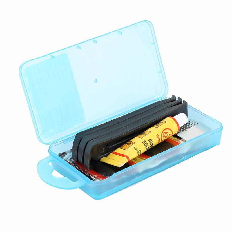 Wow Sportz Portable Mountain Bike Repair Tools Kit Bicycle Tool Set for Cyclist Bicycle Tire Tube Patch Glue Fix Kit Mender Accessories