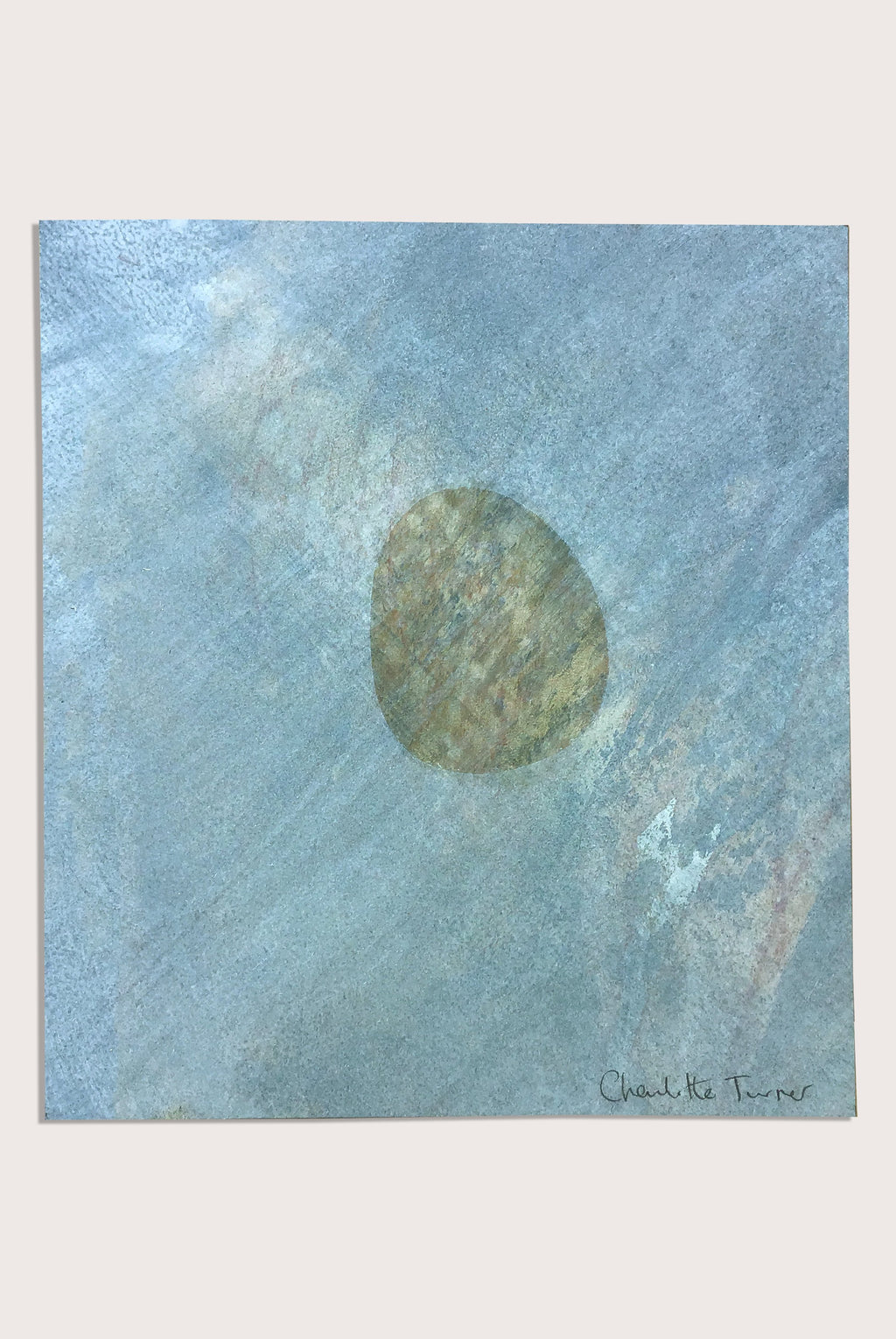 'Beach Studies 5', a littoral  painting by contemporary, woman artist Charlotte Turner