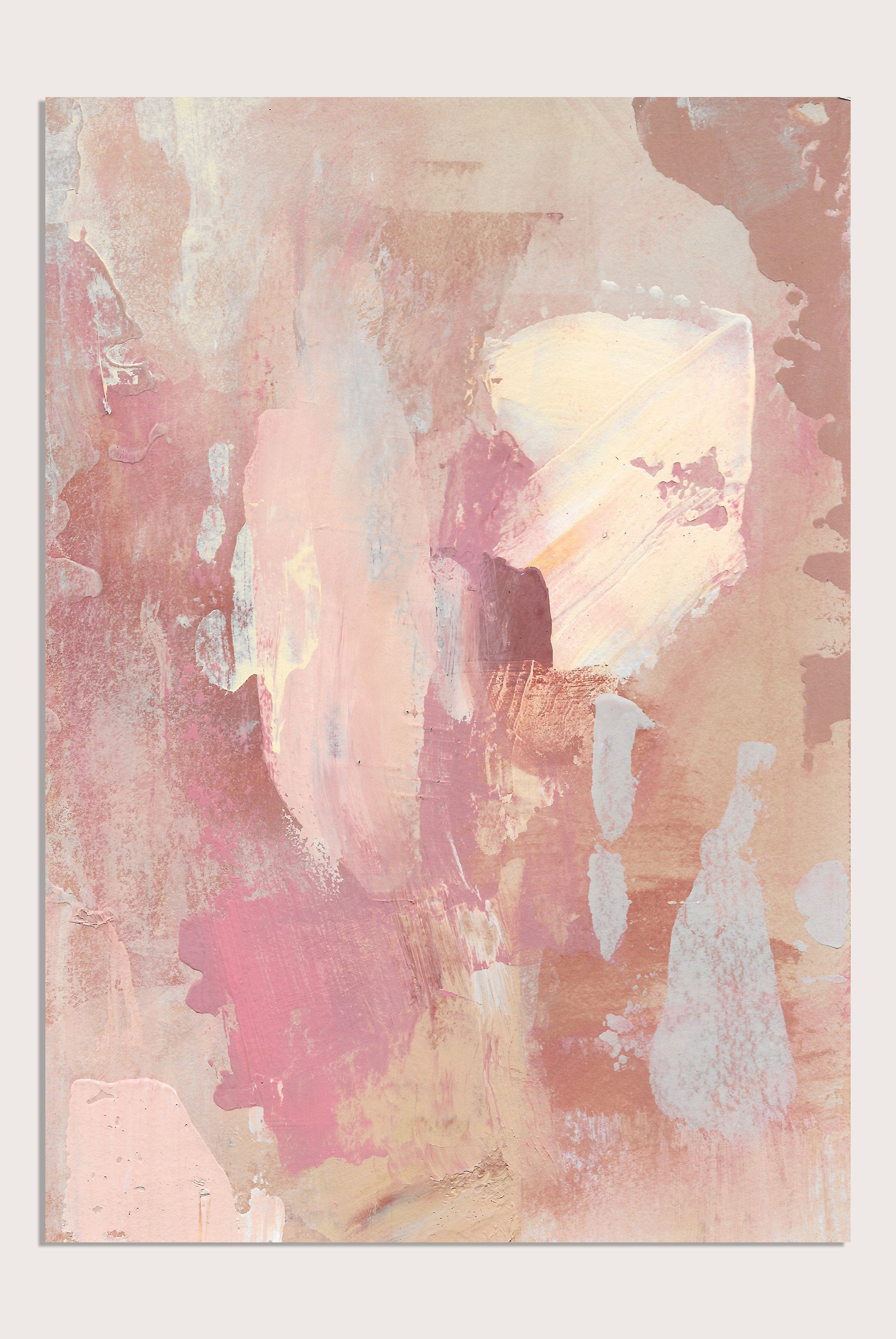 'Medina Marrakesh I', an abstract painting by contemporary, woman artist Katherine Sheers