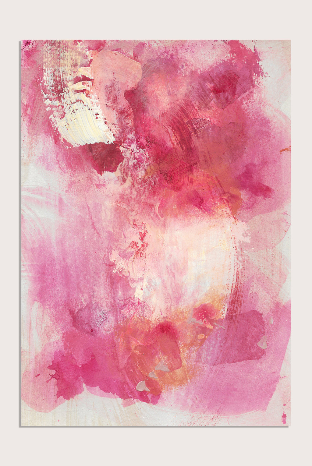 'Medina Marrakesh VI', an abstract painting by contemporary, woman artist Katherine Sheers