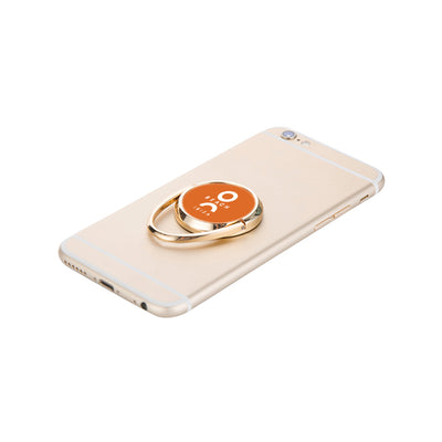 O Beach Rotating Phone Ring in Gold-Phone Ring-O Beach Ibiza