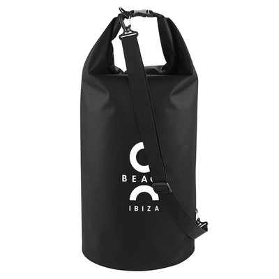 O Beach Logo White Waterproof Dry Tube Bag-O Beach Ibiza Store