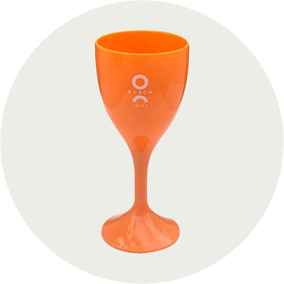 O Beach Wine Glass-O Beach Ibiza Store
