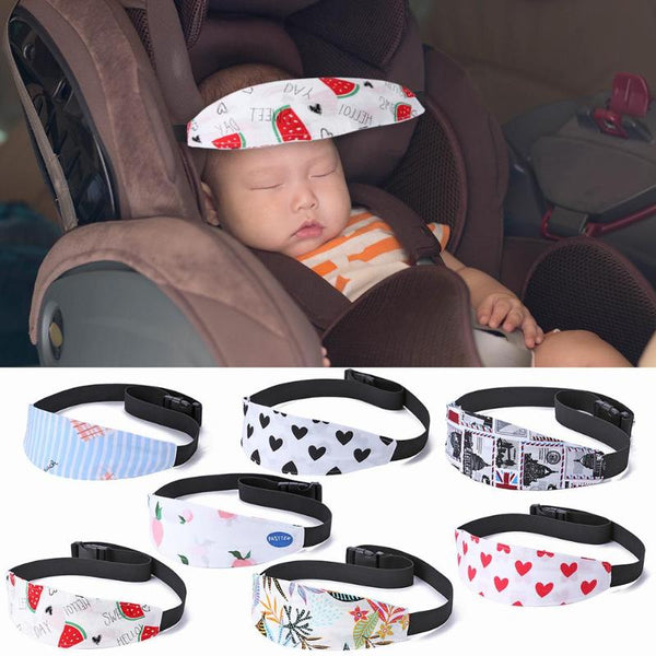Baby Car Seat and Stroller Head Support