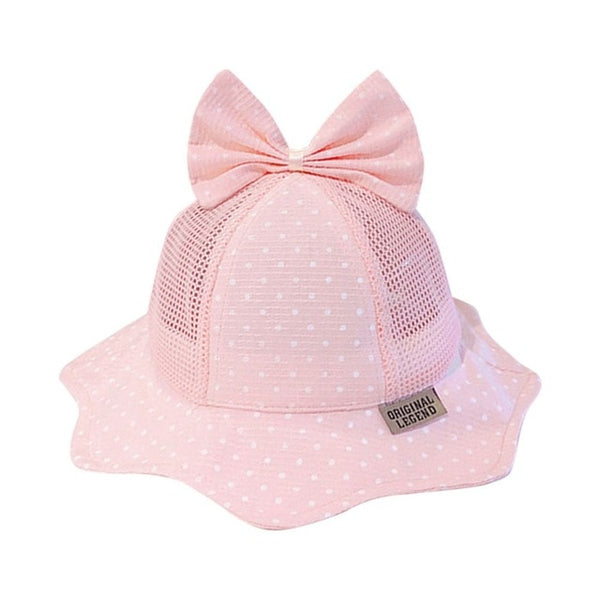 Toddler Reversible Bowknot Bucket Hat