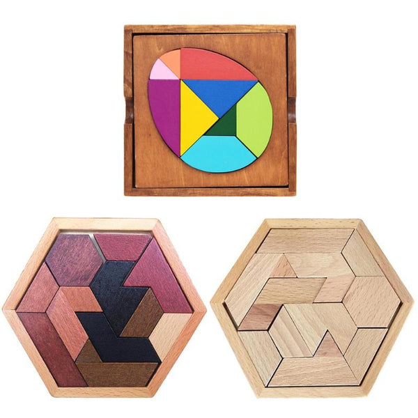 Wooden Jigsaw Puzzle Kids Toys