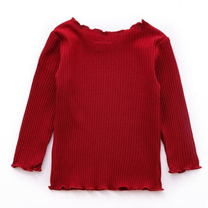 Kids Cotton Long Sleeve Top