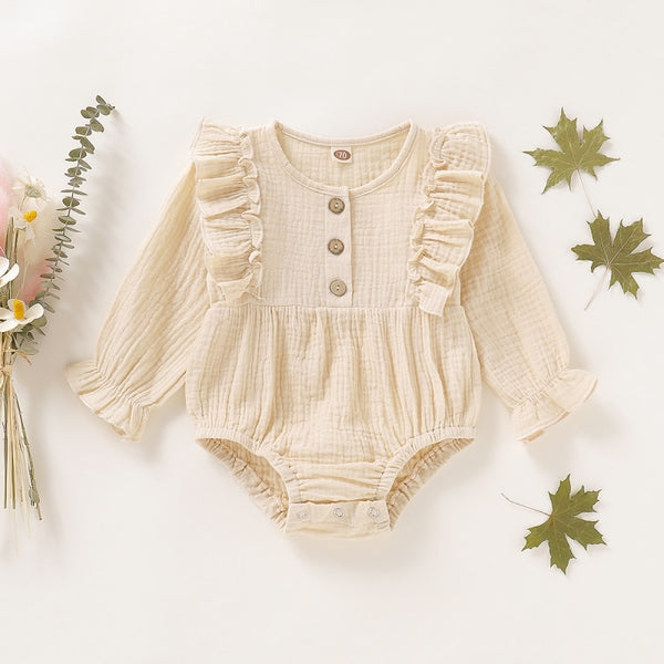 Baby Girl  Spring Romper Outfit