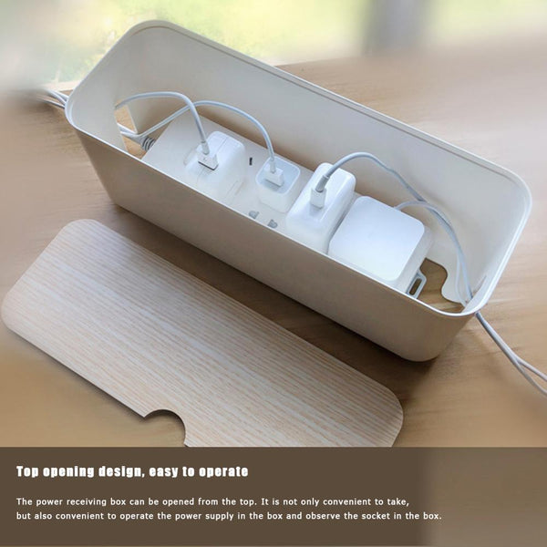 Cable Storage Anti Dust Power Strip Wire  Box